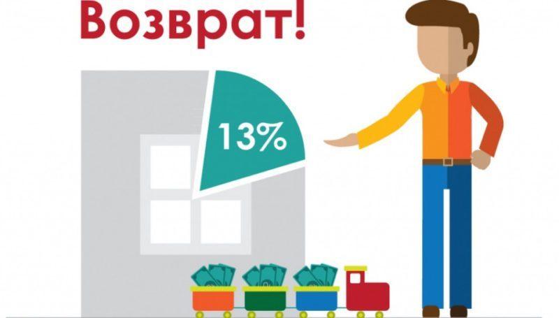 Любой официально трудоустроенный гражданин, имеет право на возврат уплаченного процента подоходного налога при покупке квартиры в кредит