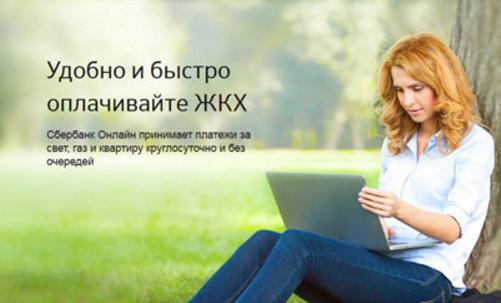 С помощью интернет-банка через компьютер или иные устройства, можно провести оплату ЖКХ, покрыть задолженность по налогам, пеням и др.