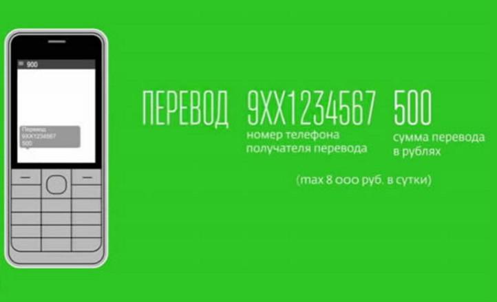 С помощью Мобильного банка можно отправить денежные средства по номеру телефона