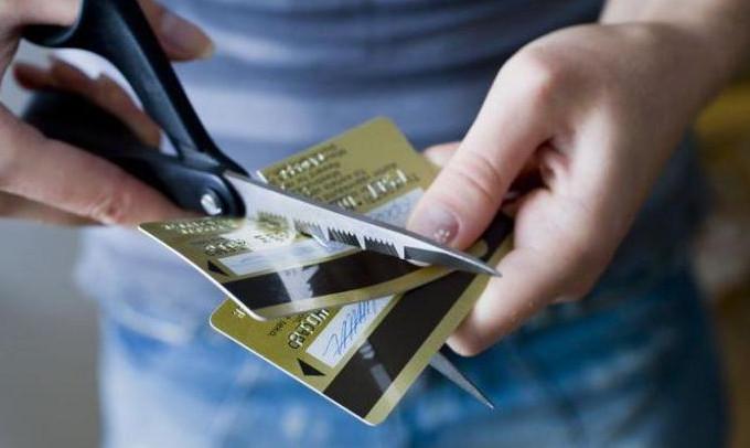 После того как кредитный договор с банком будет расторгнут, убедитесь, что сотрудники уничтожили карту