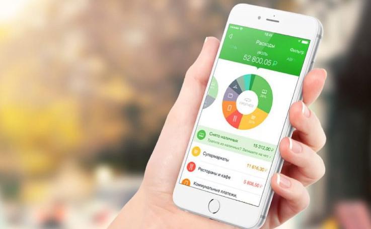 Отслеживать свои расходы на мобильном устройстве можно с помощью установленного приложения, а также через услугу мобильный банк