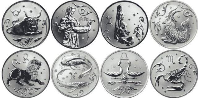 Серебряные монеты Сбербанка России: цена, стоимость, каталог; купить и продать монету Матроны Московской и знаки зодиака