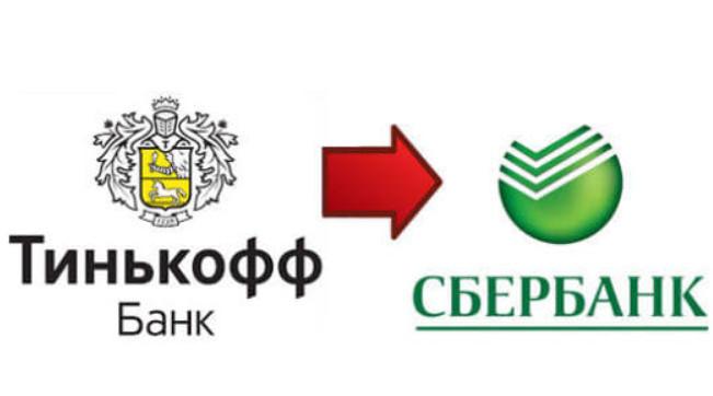 Перевод денег с карты Тинькофф на Сбербанк: как перевести без комиссии, время зачисления денег